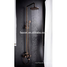 antique style bathroom waterfall shower faucet,bath shower faucet mixer sets good quality