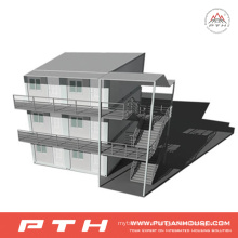 Two-Story Container House for Accommodation /Apartment /Dormitory /Hotel /Office