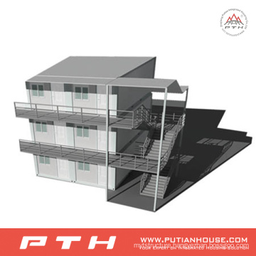China Modular Container House as Prefabricated Hotel Building