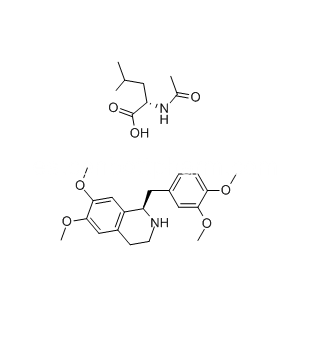 R-Tetrahidropapaverina N-acetil-L-leucinato, Cisatracurio Besilato Intermedio, CAS 141109-12-8