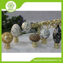 2015 neue Design Gold Vorhang Stange / Gold Vorhang Pole / Kristall Vorhang Pole / Gold Vorhang Finial / Gold Vorhang Halterung