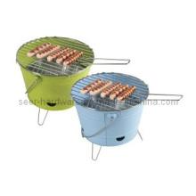 Cubeta, forma, carvão, churrasqueira, cubeta, churrasco, fogão
