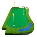 Alfombrilla de práctica de golf artificial personalizada de lujo