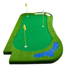 Делюкс изготовленный на заказ искусственный коврик для гольфа с зеленым покрытием