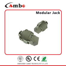 China Manufacturing FTP 180 Degree Toolless RJ45 Cat6a Keystone Jack Competitive Price