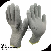 SRSAFETY 10G acrylic latex coated safety working gloves/working gloves latex coated