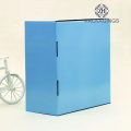 Blue large coats packaging/gift mailing box
