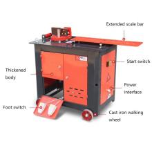 Fácil operación hilo de acero barra aro doblador para la venta