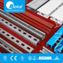 C Channel Steel Column/Unistrut Channel Profile