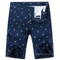 Shorts occasionnels en coton imprimé Bermuda