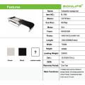 Jade quente pedra e raios infravermelhos distantes Auto elétrica Terapia Terapêutica Bed com dobrável portátil Folding Design