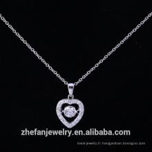 Pendentif croix maltaise en argent sterling importé fabricant de bijoux de mode