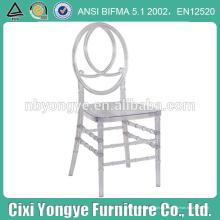 Mejor material de resina popular silla de cruz de phoenix para las bodas