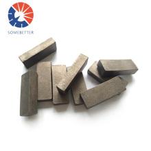 High efficiency diamond core bit ring segment for concrete and stone