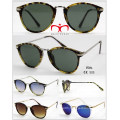 2016 Hot Selling UV400 Protection Sunglasses with Metal Temple (WSP601536)
