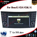 Special Car DVD GPS for Mercedes-Benz E Class W211/Cls W219/Clk W209 /G W463 Navigation with Bluetooth/Radio/RDS/TV/Can Bus/USB/iPod/HD Touchscreen Function
