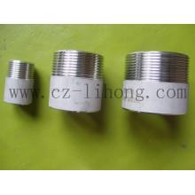 """1/8 """"acero inoxidable 316L DIN2999 pezón de soldadura de tubería"""