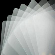 Folha / Placa / Placa PP Branco Fino 0,15mm