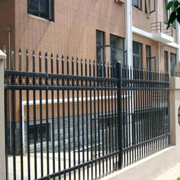 Galvanzied Wroght Iron Ziinc Steel fence For Garden