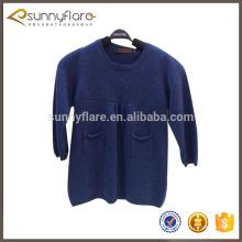 Jersey de jersey de punto de cachemir para niños