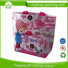 Recycle Promotion Matt Laminated Non Woven PP Shopping Bag