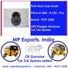Genuine Tuk tuk Spares Fork Dust Cup Small Ape Piaggio