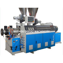 Conical Twin-Screw Plastic Extruder for PVC