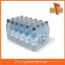 Película de empacotamento PE transparente de alta retracção para garrafas de água com design gratuito
