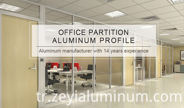 Aluminum Profile Office Partition