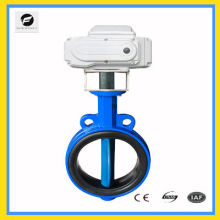 industrial CTB-010 Cast Iron UPVC electric butterfly valve for chemical plant, paper making, spinningmill