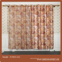 4 passar blackout cortina tecido / blackout cortina tecido 100% poliéster Material