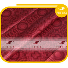 Mode africain ghalila tissu bazin à la main riche de haute qualité coton brocade FEITEX