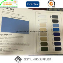 100 полиэстер подкладка стрейч ткани T400 охраны окружающей среды материал
