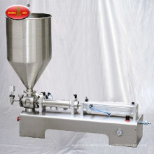 Horizontal Type Single and Double Discharge Hole Pneumatic Manual Cream Filling Machine