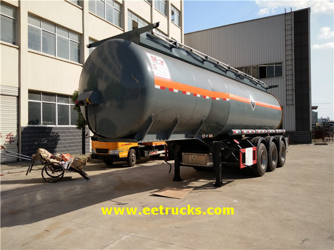 30T Hydrochloric Acid Trailer Tankers