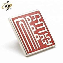 Promotional zinc alloy custom metal cloisonne enamel badge pins