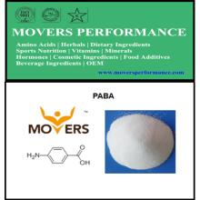 Qualité supérieure 99% Paba (acide 4-aminobenzoïque)