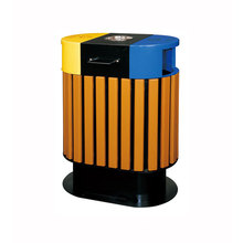 Eco-Friendly WPC Outdoor Dustbin