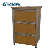 SKS011-1 Simple Style Wooden Medicine Storage Bedside Cabinets