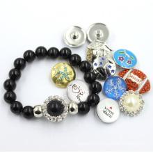 Новый дизайн ювелирных изделий жемчужина камень бисера браслет