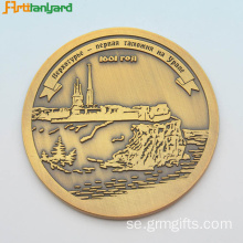 Custom Metal Coin För Promotion Presenter