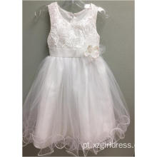 Embroidery Fishing line Princess Dress