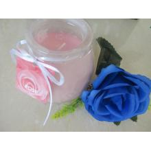 Am besten riechende Rose Frosted Glass Candle