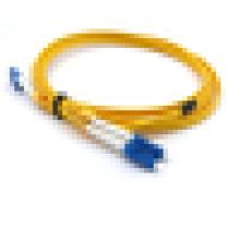 LC cabos de fibra óptica de fibra única duplex, LC ftth 9/125 cabo de fibra óptica lszh jumper