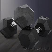 Accept custom logo Fitness Weights Dumbbell Gym Basic Equipment Hex Dumbbell