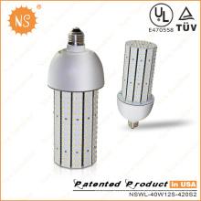 Dlc UL listado E39 40W LED COB milho lâmpada