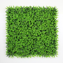 50*50CM plastic artificial foliage fence panels with fire resistant