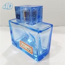 Frasco de perfume do vidro de pulverizador do quadrado da cor Ad-P217