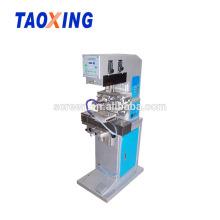 1 máquina de impressão semiautomática da almofada do seletor do relógio da cor para imprimir o logotipo pequeno
