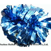 Cheerleading Metallic Columbia Blau POM POM